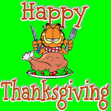 garfield thanksgiving greetings festival collections