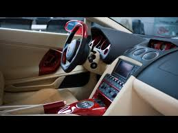 Lamborghini Gallardo Custom - 2007 imsa lamborghini gallardo gtv red interior 1280x960