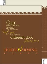 ceremony cards house warming invitation cards printable india
