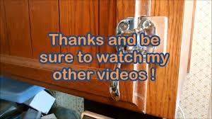earthquake proof cabinet locks how i installed an earthquake proof cabinet latch youtube