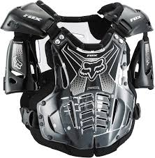 motocross safety gear fox racing new youth airframe chest protector clear motocross kids