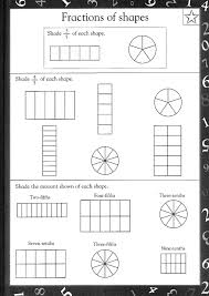 fractions worksheets reading and writing writing fractions in