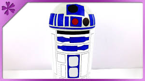 diy star wars r2d2 coin bank eng subtitles speed up 178 youtube
