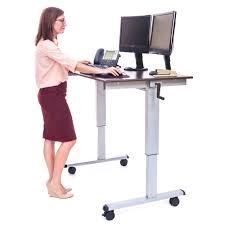 beautiful desks stand up office desk otbsiu com