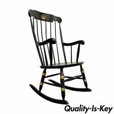 Rocking Chair Tab Vintage Sigill College University Nichols U0026 Stone Windsor Rocking