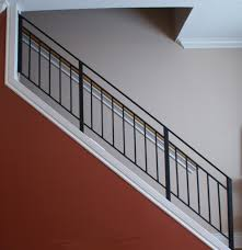 interior foxy image of interior staircase decoration using cream