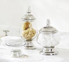 evleen mercury glass bath accessories pottery barn