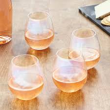 unique wine glasses uncommongoods
