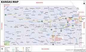 usa map kansas state kansas map map of kansas ks