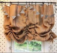 burlap curtains diy window treatments u2013 13 options you can make