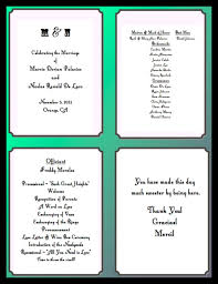 how to write a wedding program wedding ideas page 1 jpg what information goes on wedding