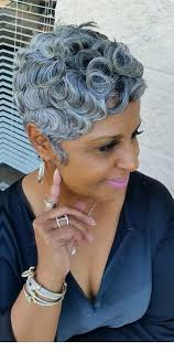 short haircuts for black women over 50 photo gallery of short hairstyles for black women with gray hair