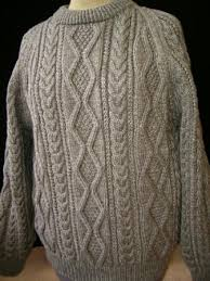 the aran sweater a traditional garment worn by fisherman from the