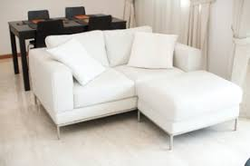 Ikea 2 Seater Leather Sofa Ikea Arild 2 Seat White Leather Sofa And Foot Stool Singapore