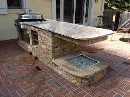 outdoor kitchen countertop ideas kitchen design 20 photos outdoor kitchen ideas for small spaces