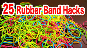 25 rubber band life hacks for your life youtube