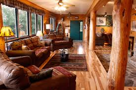 lodging river cross river lodge has lakeside cabins and a bed and breakfast on