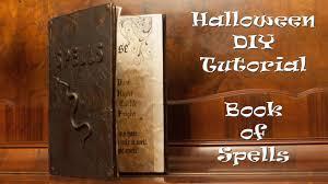 halloween diy tutorial book of spells dutchy vlog 57 youtube