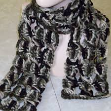 crochet broomstick lace ravelry broomstick lace chunky crochet scarf pattern by rhelena s