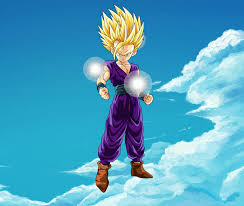 dragon ball moving wallpaper gohan mystic ki manipulation concept animated by wickedredgrin on