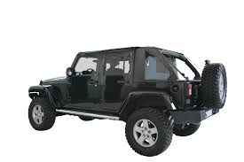 jeep soft top black jeep wrangler jk 4 door soft top cargo suncjk4d
