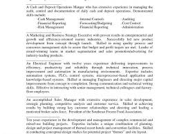 examples of resume summary statement summary example for resume