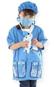 melissa and doug children u0027s veterinarian costume set a mighty