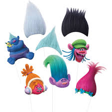 trolls photo booth props 8pc walmart com