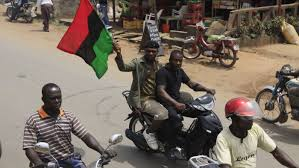 Biafra Flag Scene Of A Bloody Civil War Decades Ago Is Once Again A Place Of