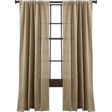 Ivory Burlap Curtains Fringe Curtains Sort By Fringe Curtains Sheer Voile Beige