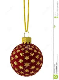 hanging and gold snowflake ornament stock photo image 11384450