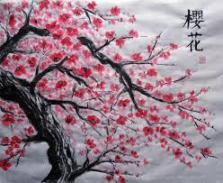Peinture Cerisier Japonais by Afficher L U0027image D U0027origine Cherry Blossom Everything Pinterest