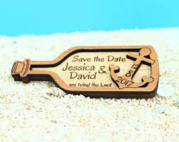nautical save the date nautical save the date magnet custom wood save the date save