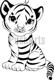 coloring page tigers baby tiger coloring pages getcoloringpages com