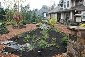 Gardens And Landscaping Ideas Easy Landscaping Ideas Low Maintenance Yard Landscaping With Rocks