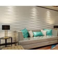 3d wall bridge design set of 10 plant fiber 3d wall panels 26 67 square