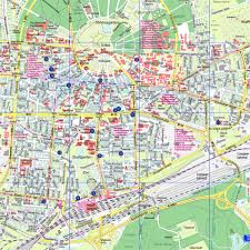 Germany City Map by Karlsruhe Map