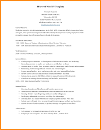 doc resume template resume template word doc 14 word doc resume template agenda