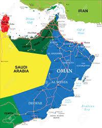 Doha Map Oman Map Royalty Free Cliparts Vectors And Stock Illustration