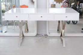 Office White Desk Set Of White Desk With Drawers Brubaker Desk Ideas Inside Modern