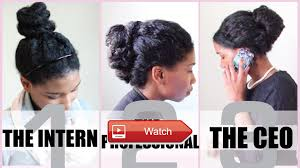 no heat corporate protective styles for medium length natural hair