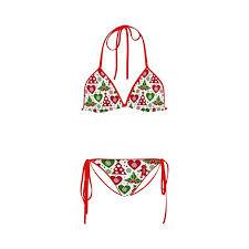 Cari Kualitas tinggi Natal Bikini Pakaian Renang Produsen dan Natal