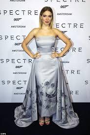 spectre lea seydoux wallpapers lea seydoux in a strapless gown at james bond spectre u0027s amsterdam