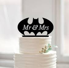 mr u0026mrs batman cake topper custom batman cake topper funny cake