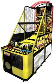 so classic sport x0604 indoor arcade hoops cabinet basketball game half court hoops arcade basketball machine from family fun companies