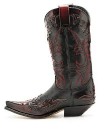 dirty riding boots 9768 cuervo florentic rojo dirty sedalin negro sendra unisex red