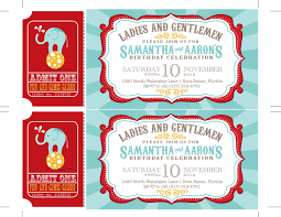 Shrimant Invitation Card Carnival Birthday Party Invitations Circus Baby Shower Carnival