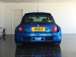 clio renault v6 used illiad blue renault clio for sale west sussex
