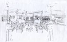 Coffee Shop Floor Plans Bookstore Document