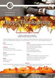 southern thanksgiving menu events archives villa monticello